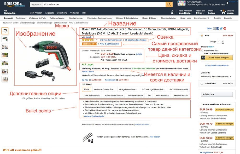 Amazon-seo-ranking-product-page