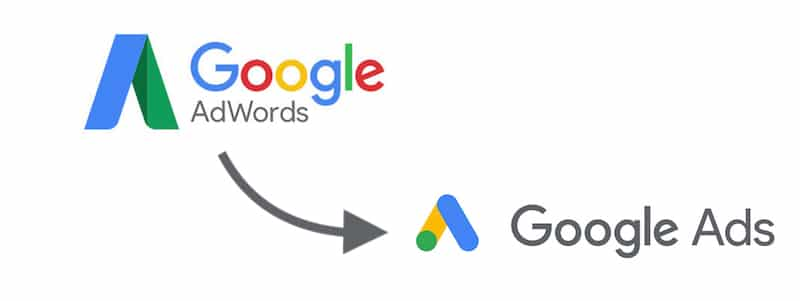 Google AdWords to Google Ads